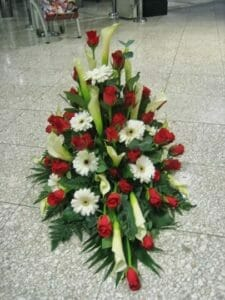 Blomster opsats 7